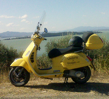 scooter rental italy